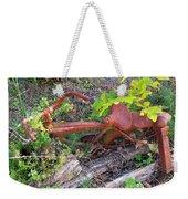 Old Rusty Bike In The Weeds 2 Weekender Tote Bag