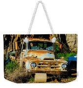 Old Rusty International Flatbed Truck Weekender Tote Bag