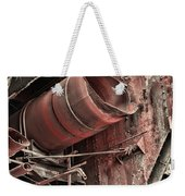 Old Rusty Pipes Weekender Tote Bag