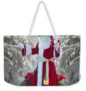 Old Saint Nick Weekender Tote Bag