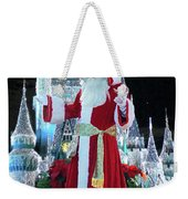 Old Saint Nick Walt Disney World Digital Art 02 Weekender Tote Bag