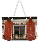 Old San Juan Balcony Weekender Tote Bag