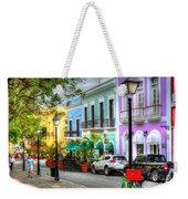 Old San Juan Street Weekender Tote Bag