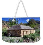 Old Sandstone Brick Farm House Nine Mile Canyon - Utah Weekender Tote Bag