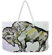 Old School Buffalo Weekender Tote Bag
