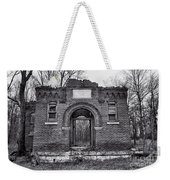 Old School Bw Weekender Tote Bag