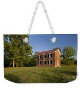 Old Schoolhouse Weekender Tote Bag by Brian Jannsen