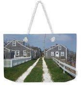 Old 'sconset Nantucket Houses Weekender Tote Bag