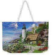 Old Sea Cottage Weekender Tote Bag