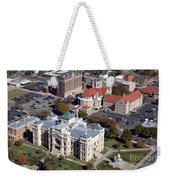 Old Sedgwick County Courthouse In Wichita Weekender Tote Bag