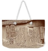 Old Shed Weekender Tote Bag