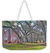 Old Sheldon Church Angled With Tombs Weekender Tote Bag