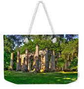 Old Sheldon Church Ruins In South Carolina Weekender Tote Bag