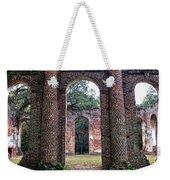 Old Sheldon Ruins Archway Weekender Tote Bag