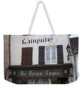 Old Shop In Tournus Weekender Tote Bag
