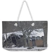 Old Snowy House Weekender Tote Bag