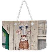 Old Soda Ad At Go Organic Berlin Maryland Weekender Tote Bag by Kim Bemis