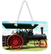 Old Steam Engine Weekender Tote Bag