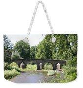 Old Stone Arch Bridge Weekender Tote Bag