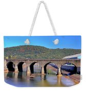 Old Stone Bridge - Johnstown Pa Weekender Tote Bag