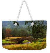 Old Stone Bridge Over Kinglas River. Scotland Weekender Tote Bag
