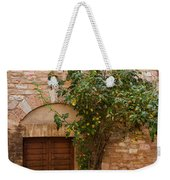 Old Stone House With Plants  Weekender Tote Bag