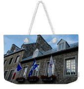 Old Stone Houses In Quebec City Canada  Weekender Tote Bag