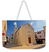 Old Streets Of Novalja Town Weekender Tote Bag