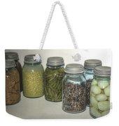 Old Style Vintage Kitchen Glass Jar Canning Weekender Tote Bag