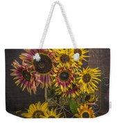 Old Sunflowers Weekender Tote Bag