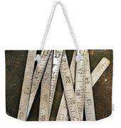 Old Tape-measure Weekender Tote Bag