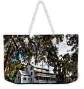 Old Thursby Plantation House Weekender Tote Bag