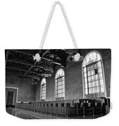 Old Ticket Counter At Los Angeles Union Station Weekender Tote Bag
