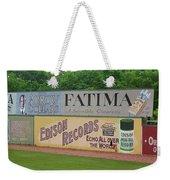Old Time Baseball Field Weekender Tote Bag by Frank Romeo
