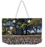 Old Time Farm And Cotton Fields Weekender Tote Bag