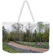 Old Time Gravel Road Weekender Tote Bag