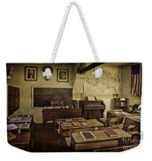 Old Time Learning Weekender Tote Bag