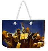 Old Time Music Weekender Tote Bag