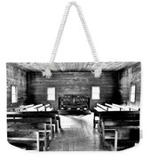 Old Time Religion -- Cades Cove Primitive Baptist Church Weekender Tote Bag by Stephen Stookey