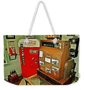 Old Time Station Weekender Tote Bag by Marty Koch