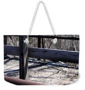 Old Timey Foot Bridge Weekender Tote Bag