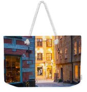 Old Town Alley Weekender Tote Bag
