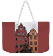 Old Town Architecture Weekender Tote Bag