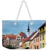 Old Town Buildings In Budapest Weekender Tote Bag