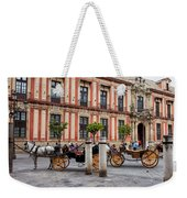 Old Town Of Seville In Spain Weekender Tote Bag