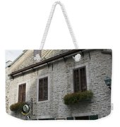 Old Town Quebec Canada Weekender Tote Bag