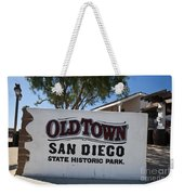 Old Town San Diego State Historic Park Weekender Tote Bag