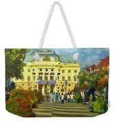 Old Town Square Weekender Tote Bag