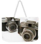 Old Toy Cameras Weekender Tote Bag