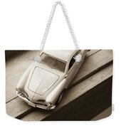 Old Toy Car On The Window Sill Weekender Tote Bag
